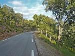 Blavet road leading to the tour