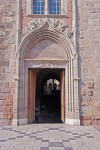 Frejus Cathedral main entrance