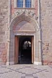 Frejus Cathedral main entrance