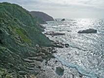 Giens western shore