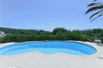 Latour pool and view 1