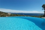 Ligurienne pool and view 1