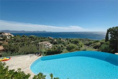 Ligurienne pool and view 3