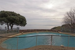 Mourila view from pool