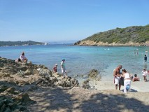 Port Cros beach near Malalongue