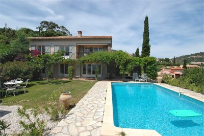 Villa rousse house and pool
