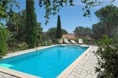 Villa rousse pool