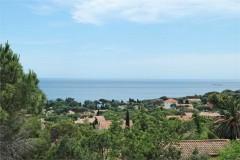 Villa rousse view balcony