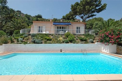Aurelia house & swimming pool.