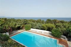 Aurelia view & pool.